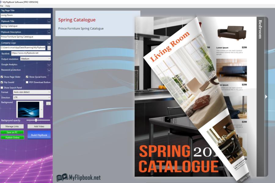 MyFlipbook - Flipbook Maker Software